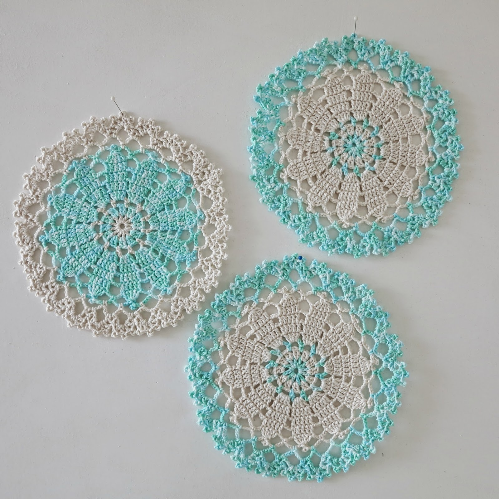 Free Japanese Crochet Doily Patterns : ByHaafner * crochet : Its Just Another Doily Monday...