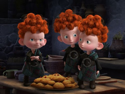 Brave - The ugly little triplets.