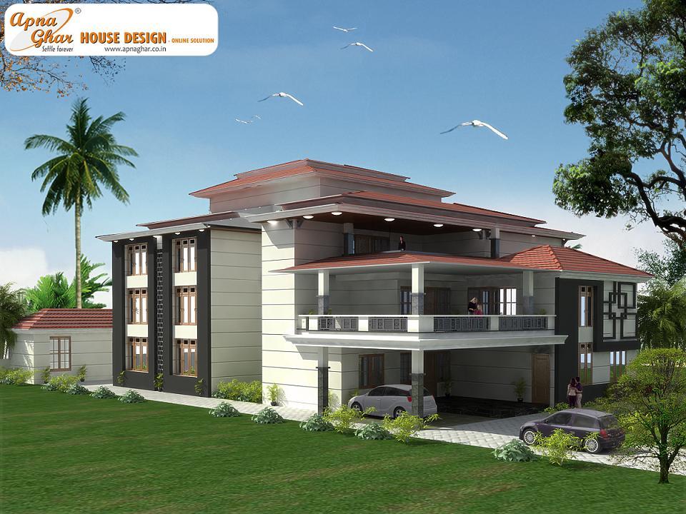 24 surprisingly triplex home designs home building plans for Triplex house designs
