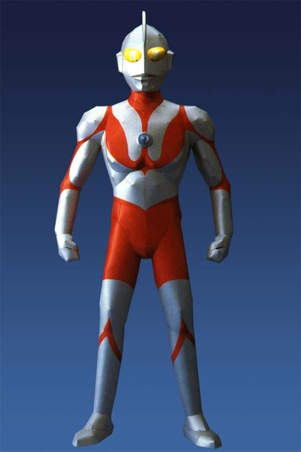 Ultraman Papercraft - Free Papercraft