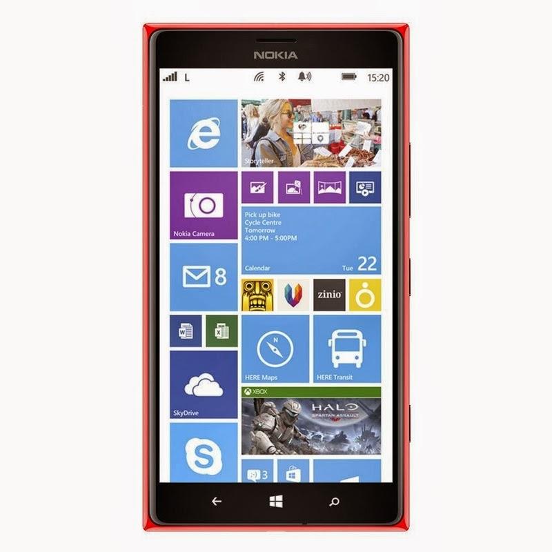 Spesifikasi Dan Harga Nokia Lumia 1520 Red Terbaru