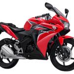 Honda CBR150R Merah (X-treme Red)