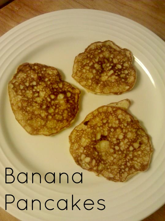 ... but it s all i have my most recent food love banana pancakes i love