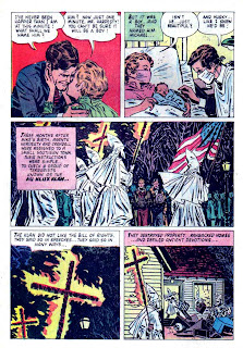 The FBI Story / Four Color Comics #1069 dell crime comic book page art by Alex Toth