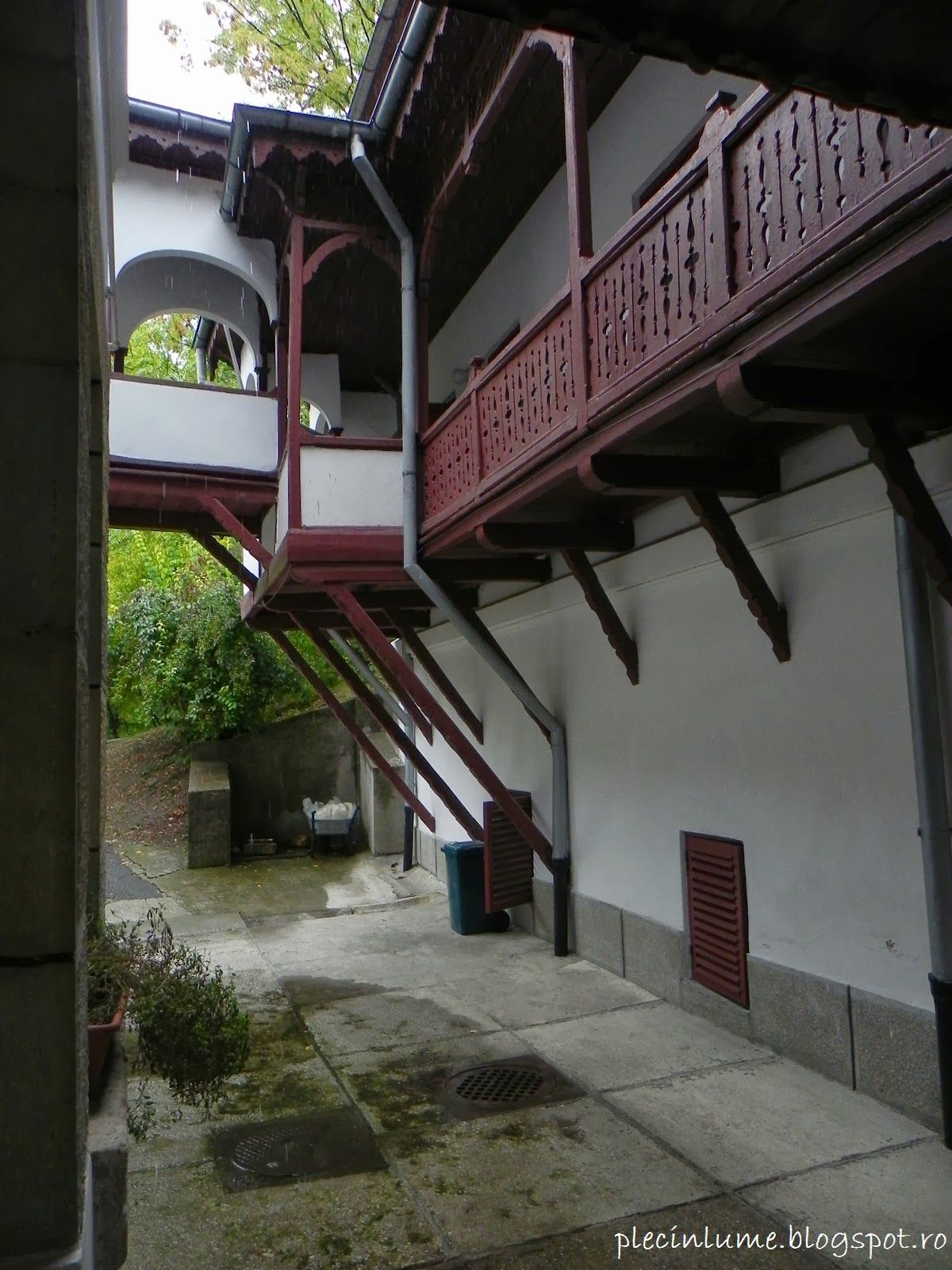 Detaliu din vila Florica