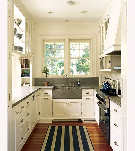 Small White Cottage Kitchen another small white kitchen to love | content in a cottage