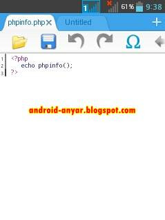 Download 920 Text Editor full .apk terbaru
