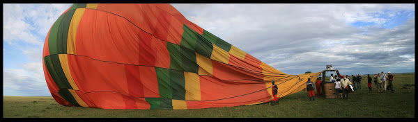 Balloon ride on the Masai Mara