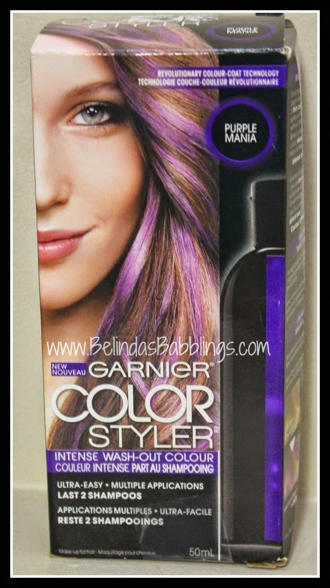 Garniers Color Styler How Easily Does It Come Out Belindas