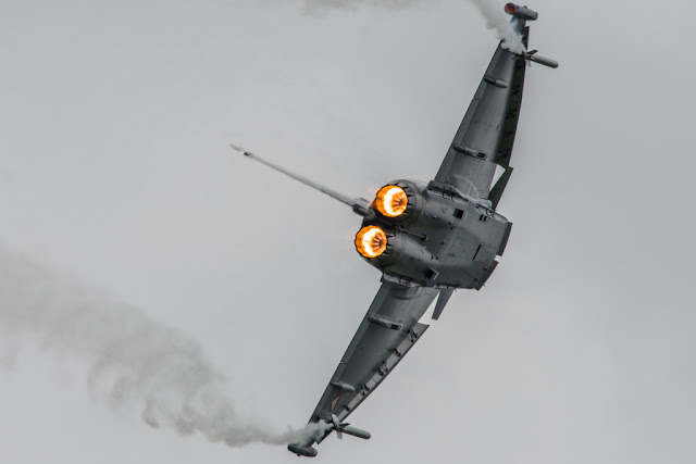 Eurofighter Typhoon left turn