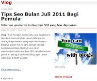 Tips SEO Terbaru Bulan Juli Tahun 2011 Bagi Pemula | Khamardos BLog