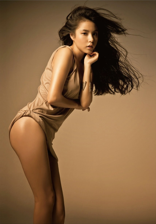 Min Hyo Rin (민효린) - CeCi Body Portrait Photoshoot (July, 2010)