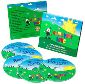 name-your-tune-cd Name Your Tune Personalized CDs....Giveaway!