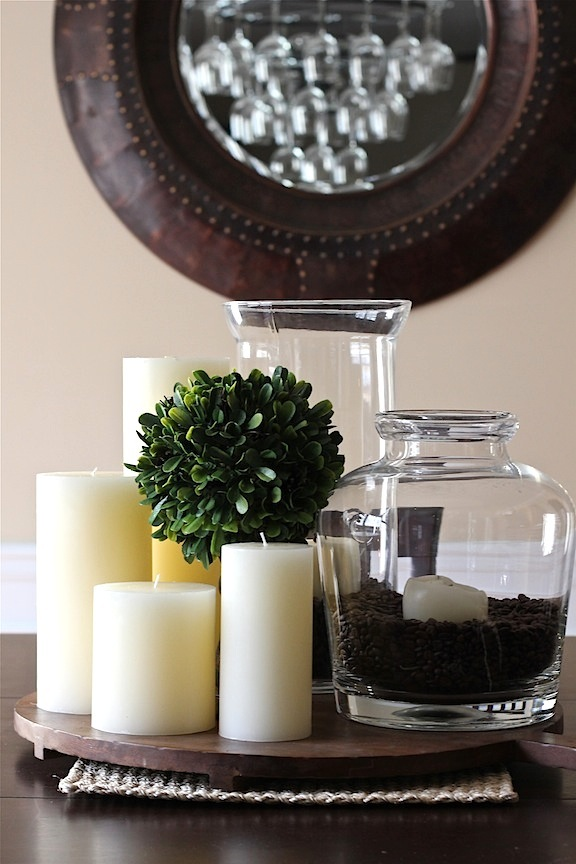 Savor Home My Simple Neutral Centerpiece