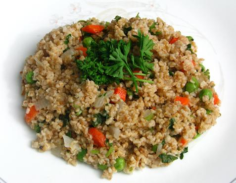 Vegetable oats upma sanjeev kapoors reciepe foodies nook a vegetable oats upma forumfinder Choice Image