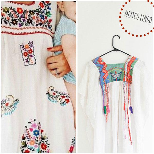 vestidos mexicanos tendencia