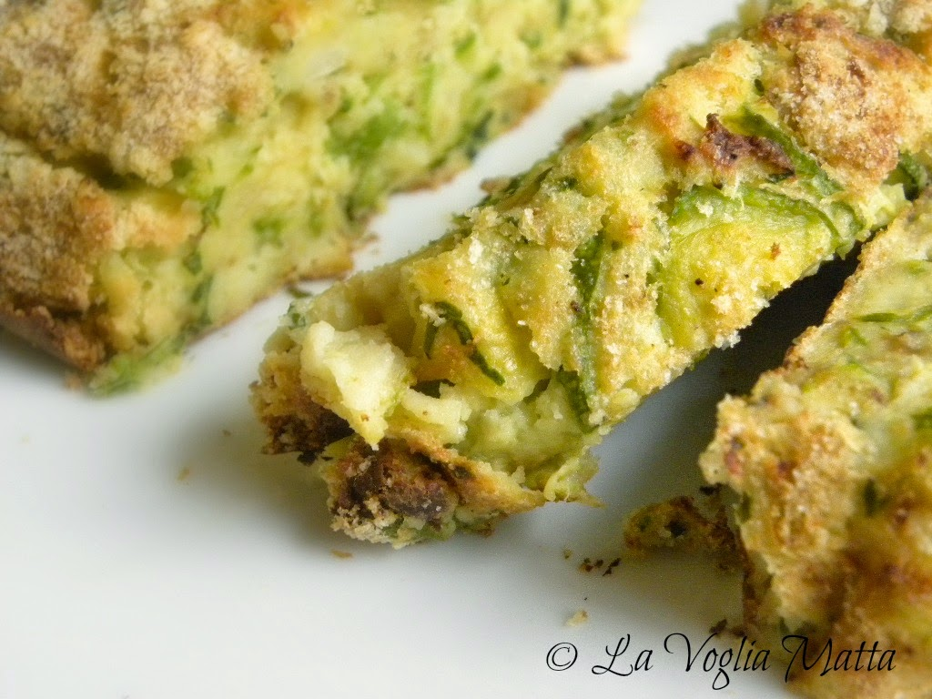 ricetta polpettone di patate e zucchine