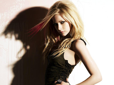 Avril Lavigne Wide Screen Wallpaper