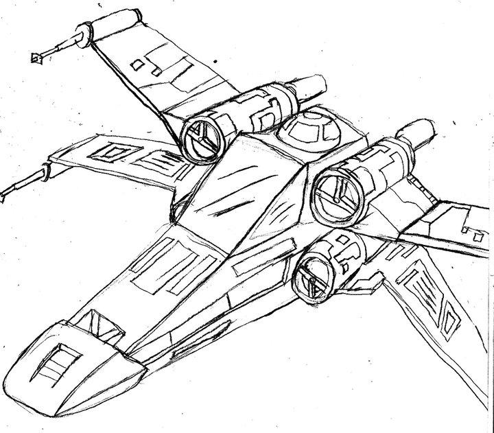 X Wing Line Drawing : Star wars la guerra de las galaxias スターウォーズ 星際大戰 guerre