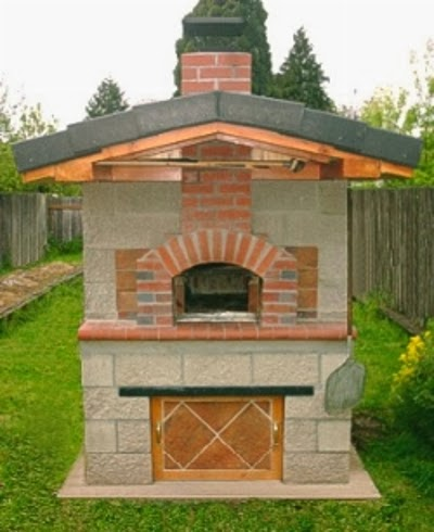 Case di lusso camini grill e forni per esterno - Forno per pizza da giardino ...