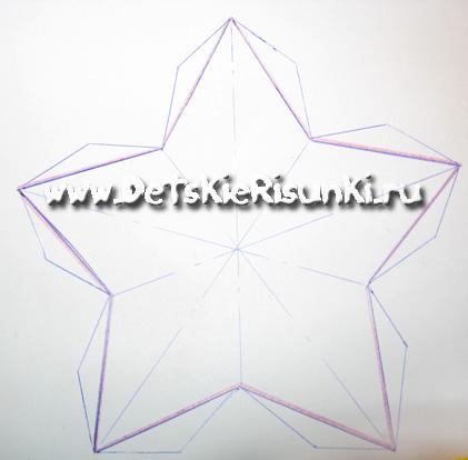 Как сделать звездочку из картона своими руками - Ubolussur.ru