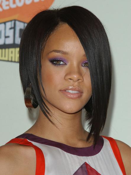 elizabethan era hairstyles : rihanna edgy bob hairstyle celebrity rihanna edgy bob hairstyle at