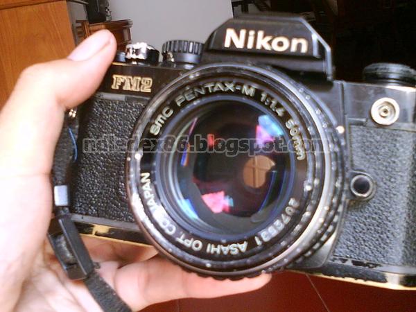 Pentax mount Nikon
