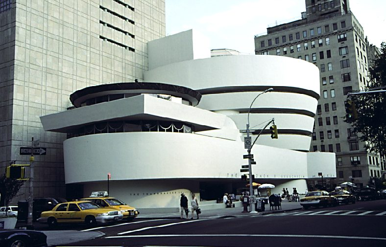 The eye that writes solomon r guggenheim museum for R architecture tours