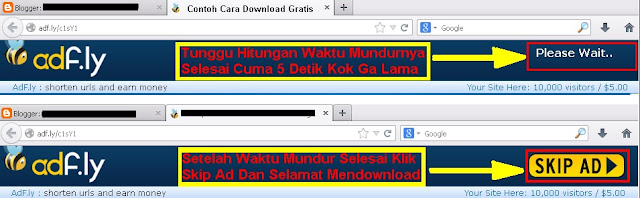 Contoh Cara Download Gratis