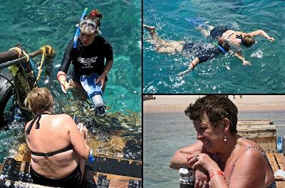 Snorkelling al Fantazia Resort Marsa Alam 2013 rebeccatrex