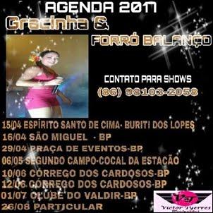 Gracinha & Forró Balanço - a mais tocada da região!