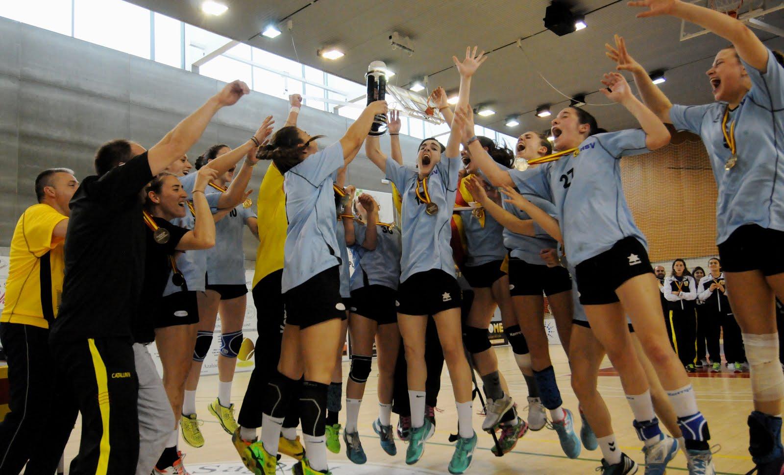 Juvenil femení, Campió d'Espanya