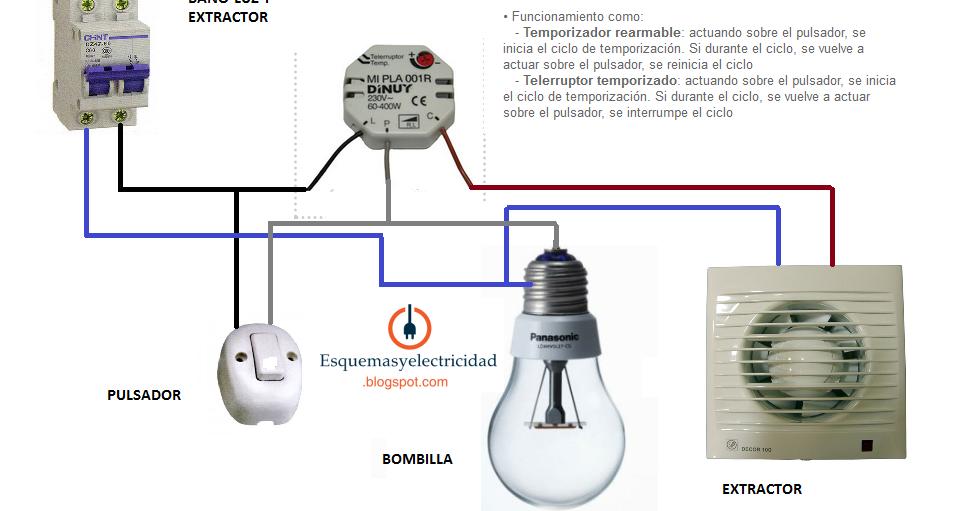 Extractor de ba o a bateria - Instalacion extractor bano ...