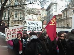 """Frase do Protesto """"Geração à Rasca"""""""