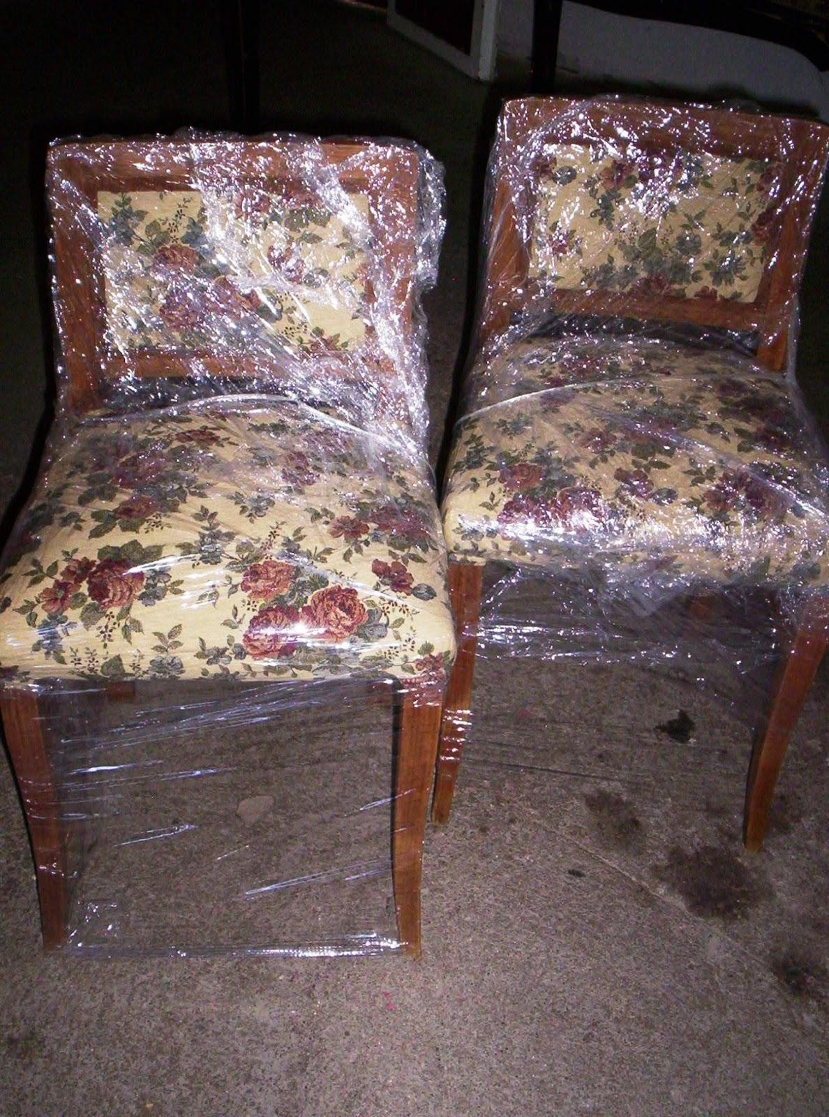 Reciclado de sillas y sillones sill n americano y dos for Reciclado de sillones