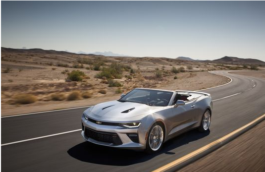General Motors Reveals The Sixth-Gen Camaro Convertible