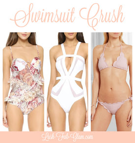 The most Gorgeous Swimwsuits + Spring/Summer Swimwear Trends.