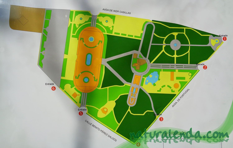 mapa parque de liana