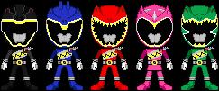 [Download] Kumpulan Gambar Chibi Super Sentai