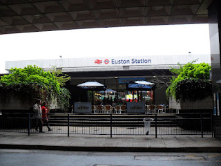 We've arrived at London Euston!