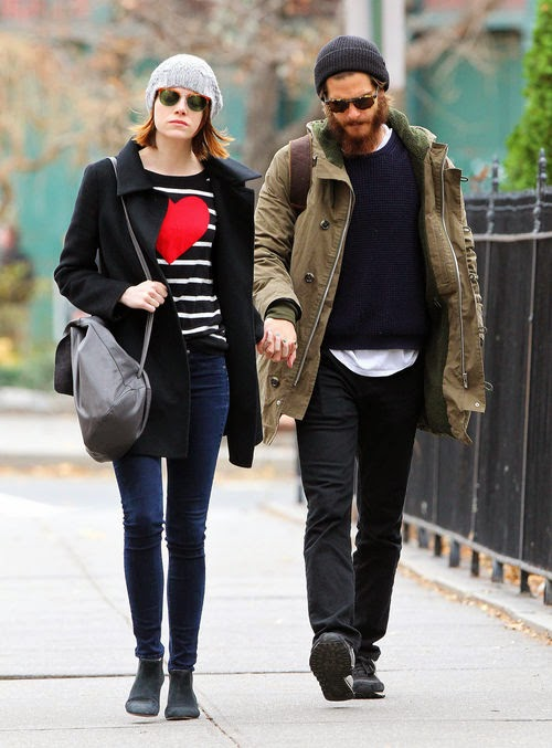 Holding hands through NY | Stroll with her Andrew: Emma Stone shows heart