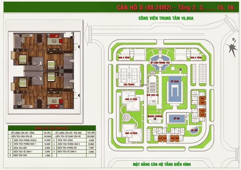 Bán chung cư Green House Việt Hưng