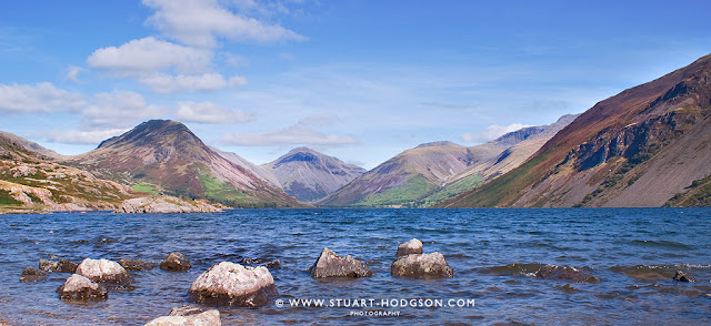 Wastwater, lake district, best view, scafell pike