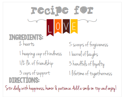 Check out this cute mason jar recipe available from our free printables!