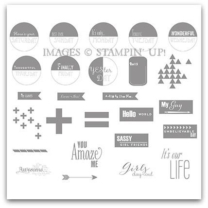 Graphic Days Stamp Brush Set - Digital Download by Stampin' Up!