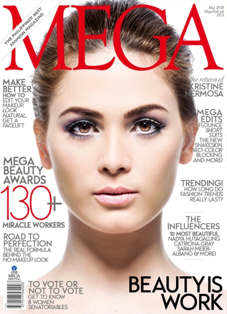 Kristine Hermosa Covers Mega Magazine May 2013 Issue; Her 'Big Comeback'