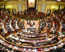 El congreso español aprobó por abrumadora mayoría el reconocimiento del Estado palestino