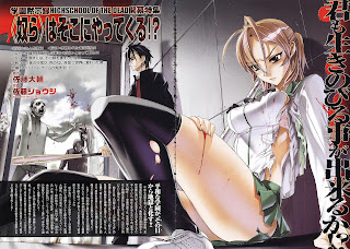 Highschool of the dead 01 Mangá Leitura Online agaleradosanimes.net