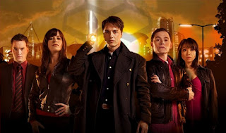 Membros da equipe Torchwood, da série inglesa homônima