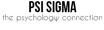 Psi Sigma: The Psychology Connection